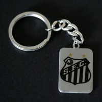 Chaveiro de A�o do Santos
