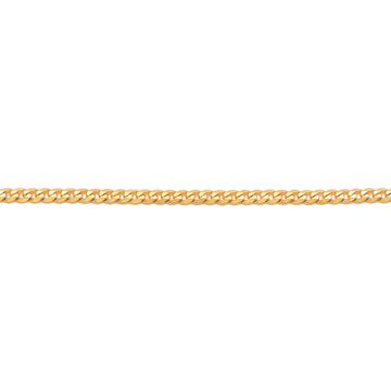 Corrente de Ouro Amarelo 18k Groumet 60 cm / 2.5 mm